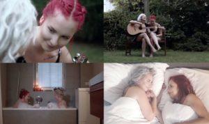 V romantickém videoklipu se Eva objevuje se svou přítelkyní a veřejně se tak hlásí k lesbické orientaci.